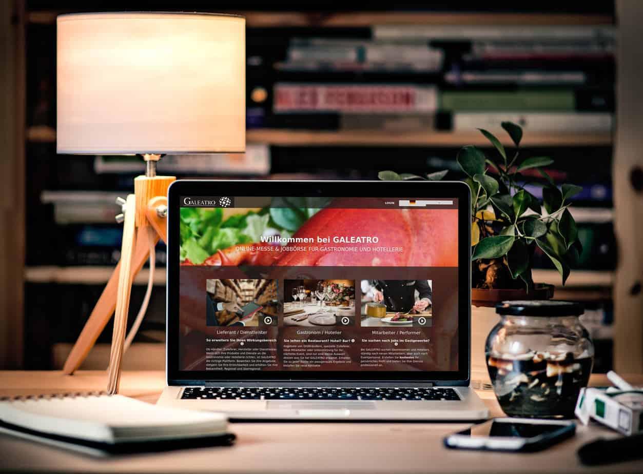 Galeatro - griechisches Branchenbuch AGORA Screenshot