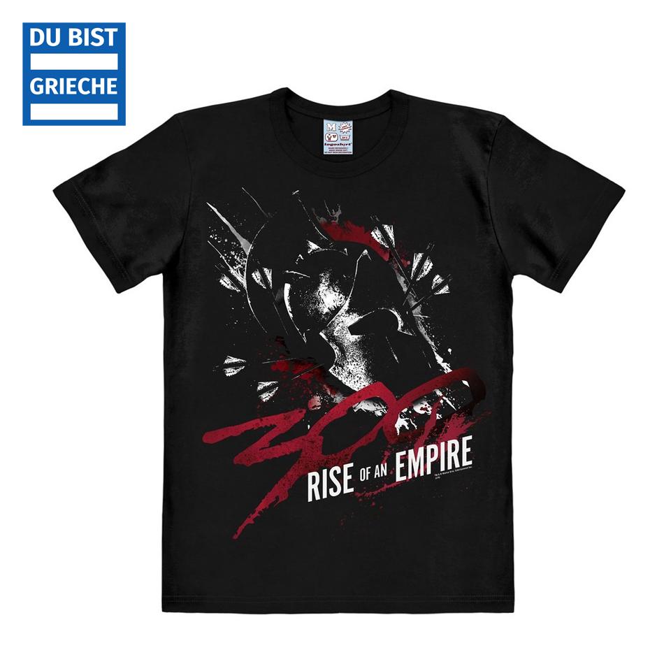 300 Film t-shirt sparta schwarz