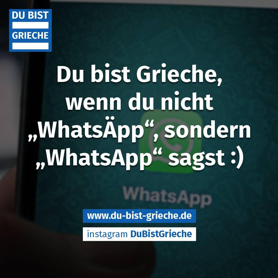 Griechen und Whatsapp