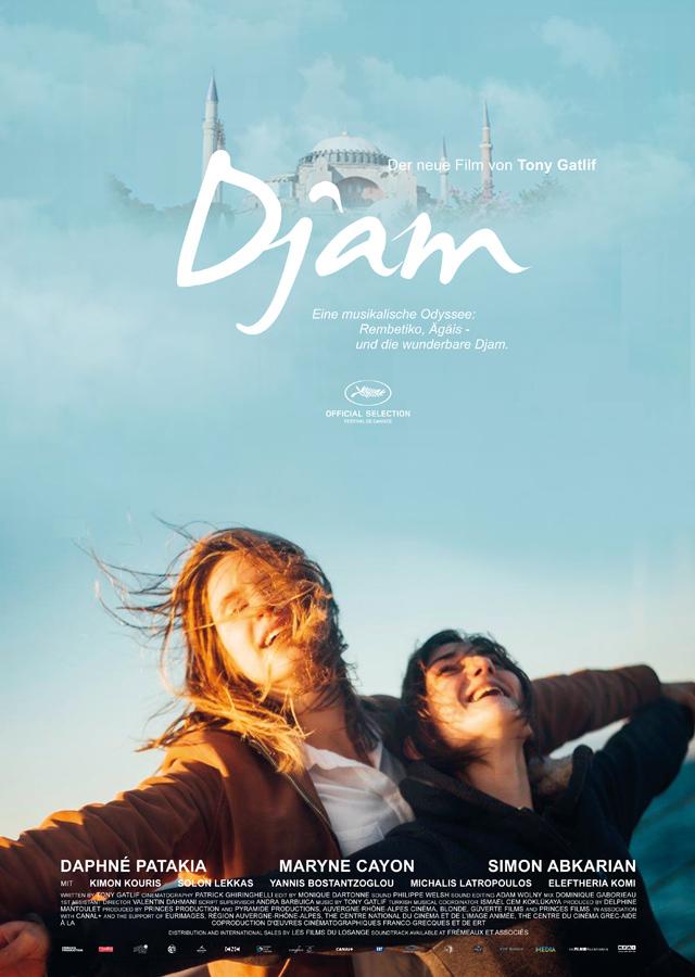 Djam griechischer kino film 2018 cover