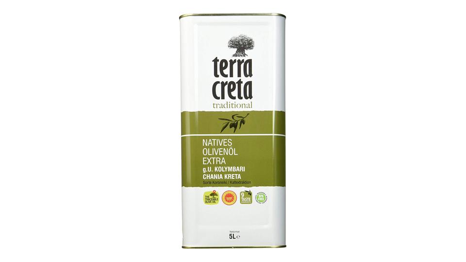 Terra Creta Extra Natives Olivenoel 5 Liter Kanister