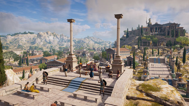 Assassins Creed Odyssey Leveldesign
