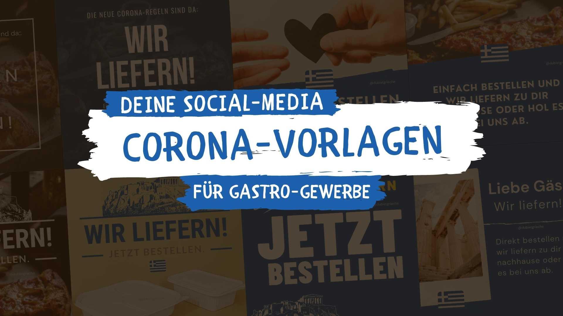 Corona Vorlagen Restaurant download