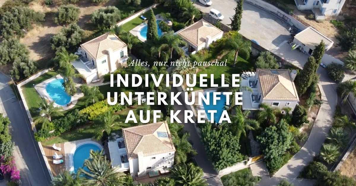 Individuelle Unterkuenfte auf Kreta