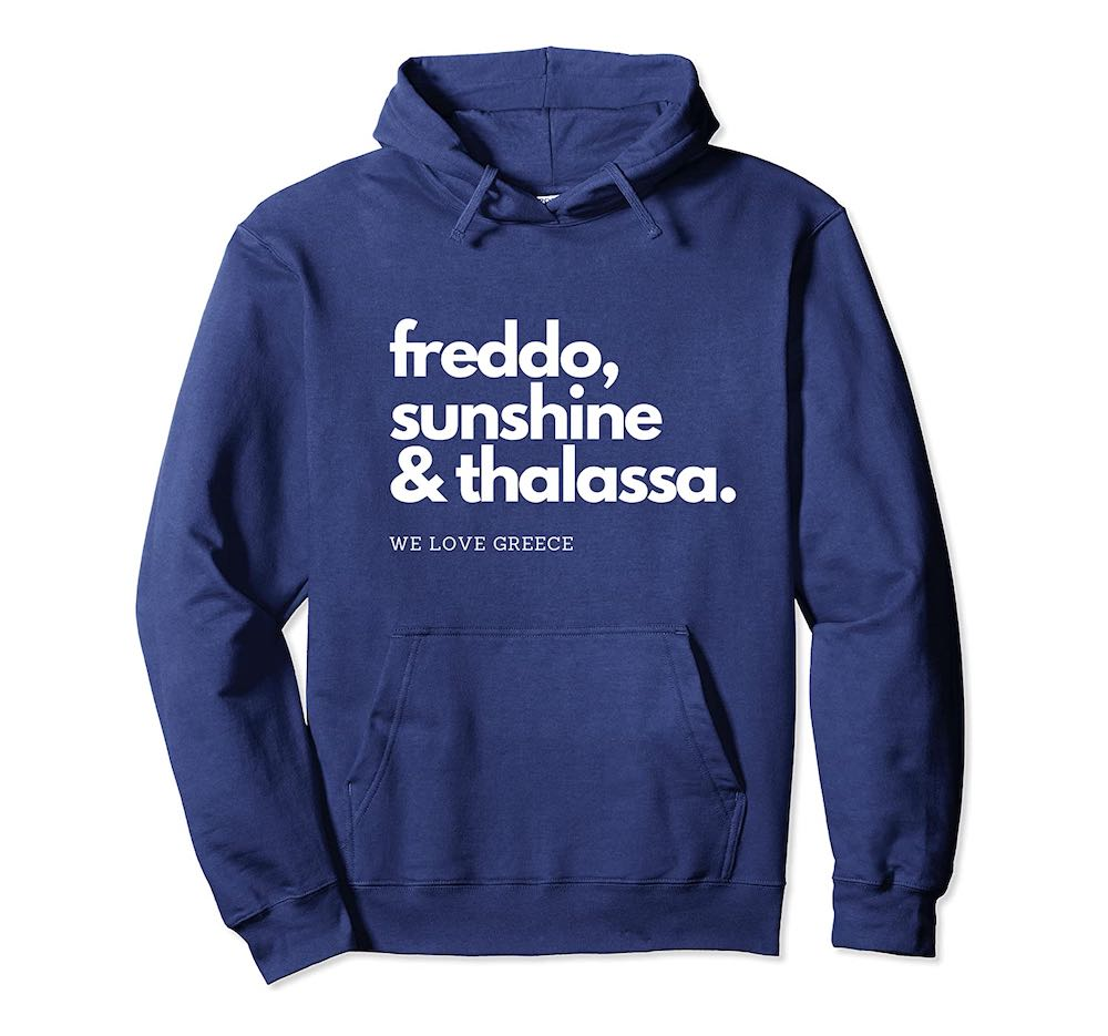 greek Hoody thalassa unisex